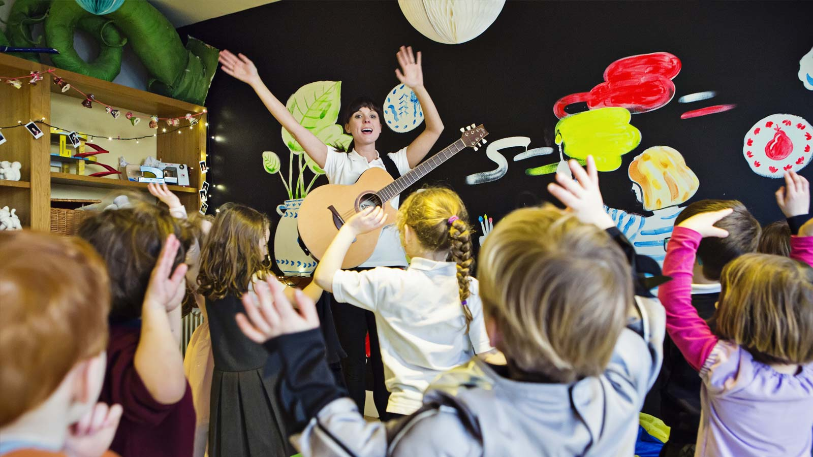 Early Childhood Music, Dance and Drama for children living in Canberra and Queanbeyan